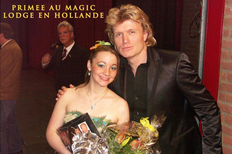 Elfia et Hans Klok en 2008