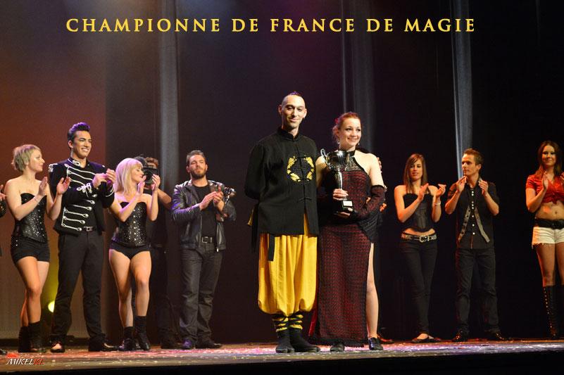 Championne de France de magie ELFIA