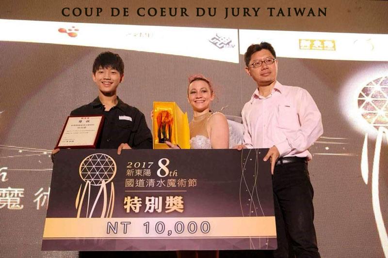 Concours magie à Taiwan avec Elfia