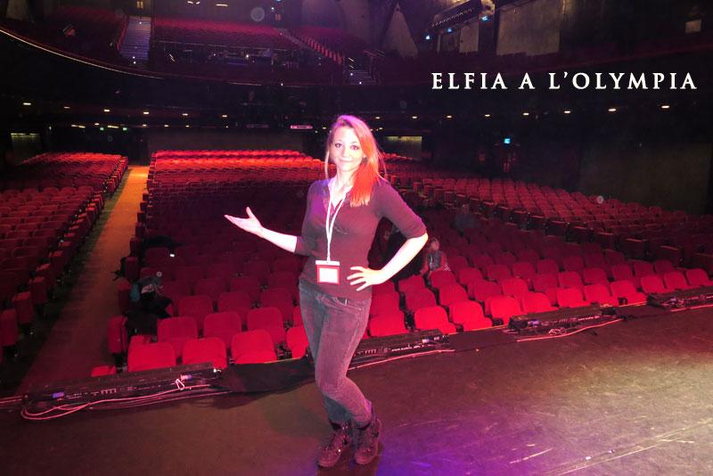 Elfia à l'Olympia spectacle de magie