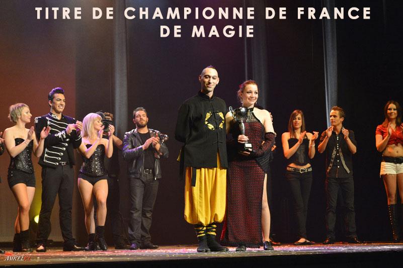 Elfia championne de France de magie