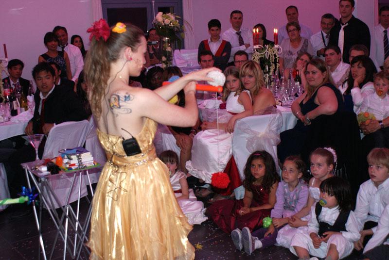 Magicien spectacle pour mariage