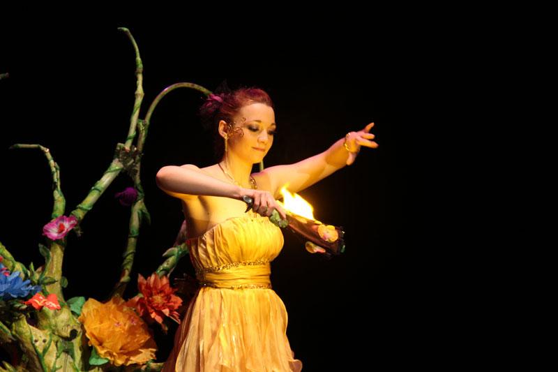 Magicienne elfia anniversaire spectacle magie