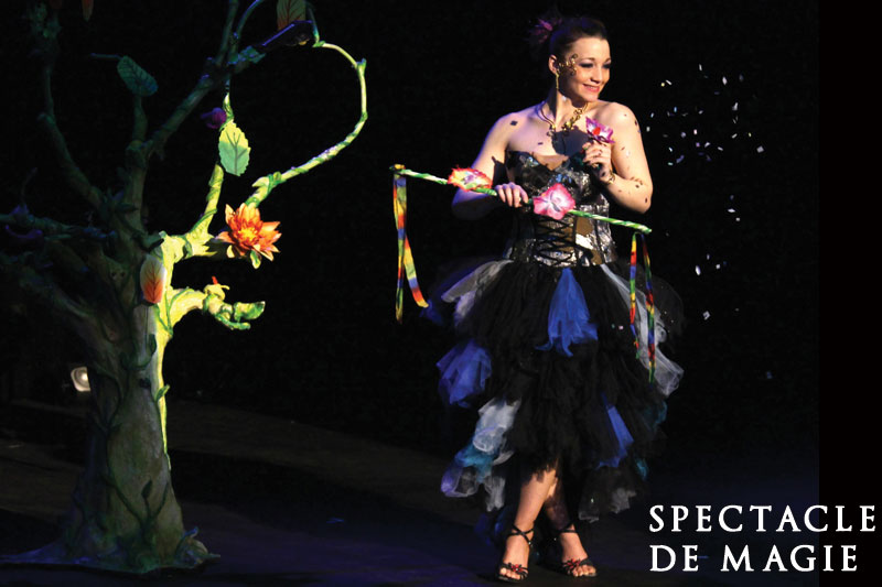 Magicienne spectacle de magie