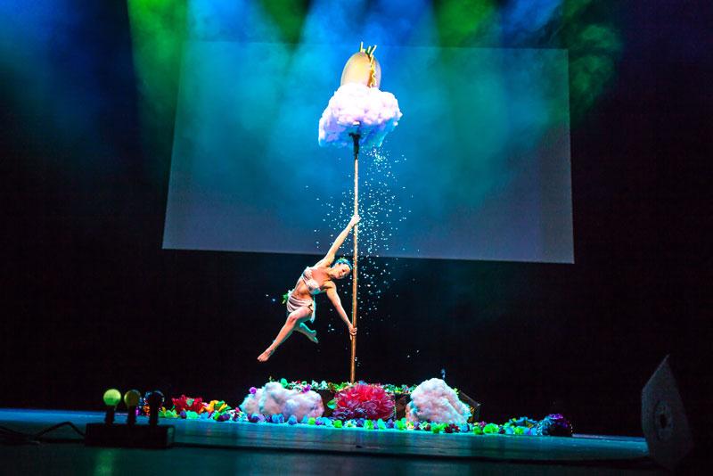 Show pole dance magique anniversaire