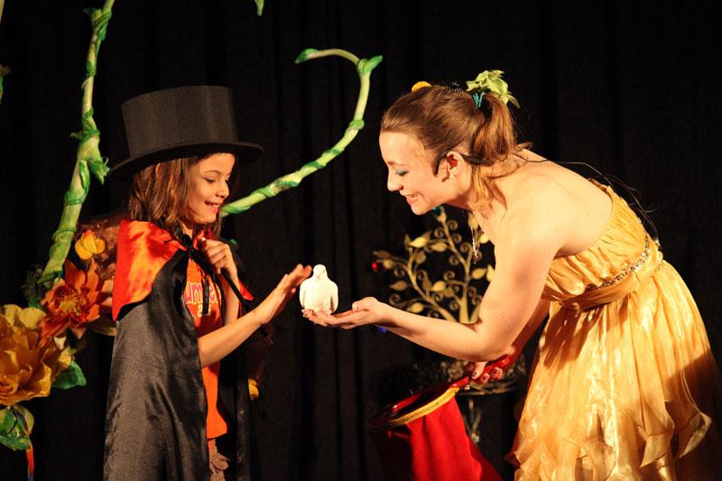 magicien mariage spectacle Elfia