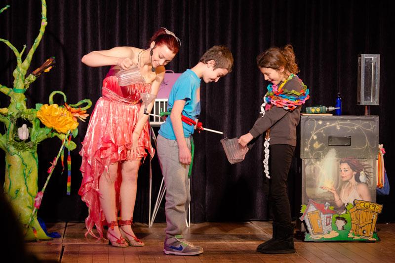 Spectacle magie pour enfants 95