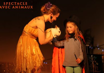 Spectacle de magie avec lapin 91