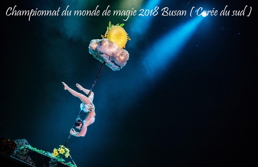 Championnats du Monde de Magie Corée du Sud