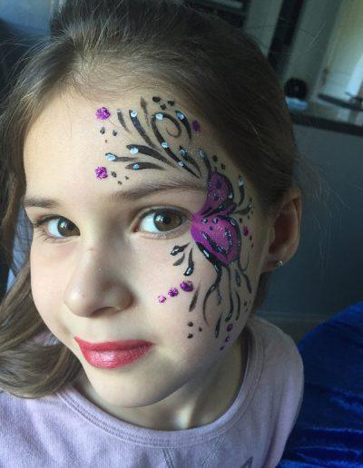 maquillage animation noel